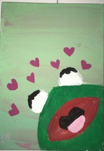 Lovesick kermit