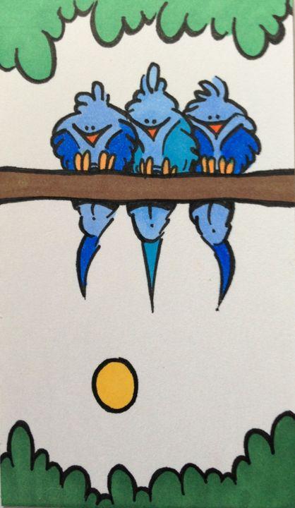 Bluebirds - ❤️Harper