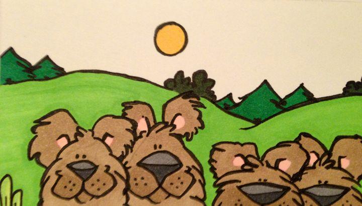 Family of bears - ❤️Harper
