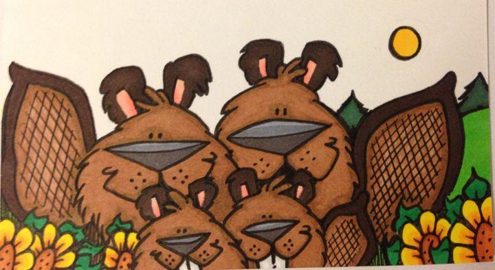 Beaver family - ❤️Harper