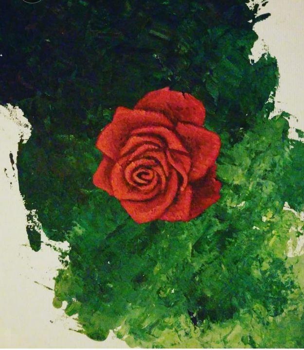 Rose For My Darling - Safire Illustrations