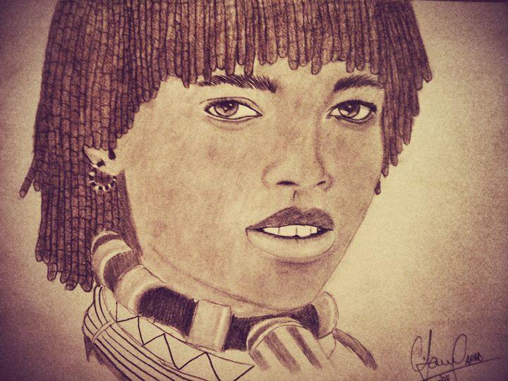 Ethiopian Girl - my wOrk