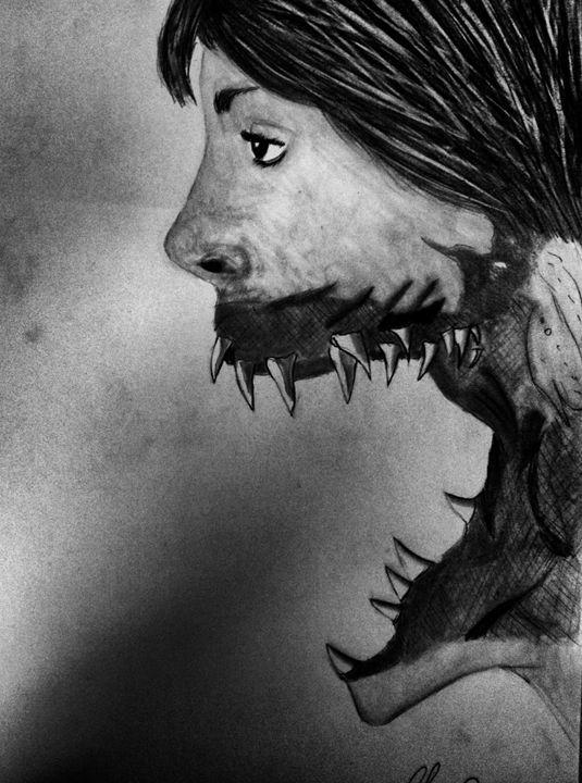 Sad vampire - my wOrk