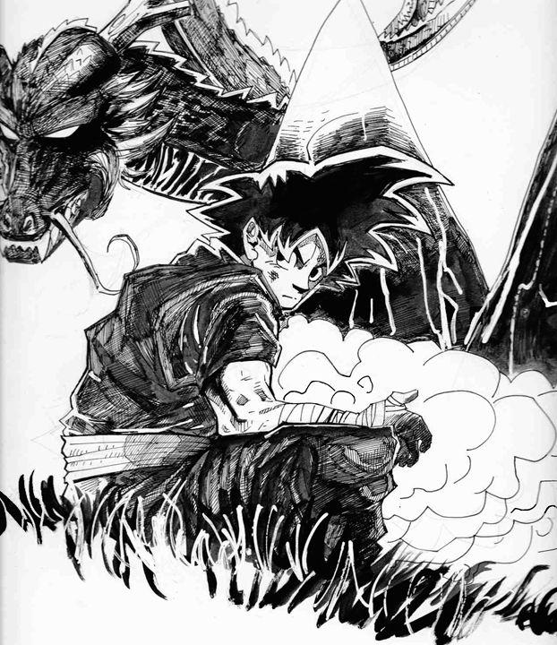 Son Goku - Foster Sketches