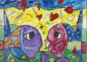 Fish also need love -Happy Valentine
