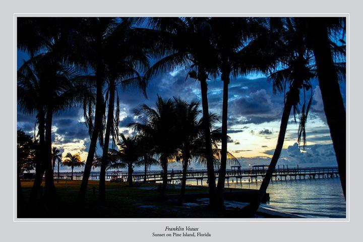 Sunset on Pine Island - Franklin Veaux Poster Shop
