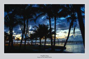 Sunset on Pine Island