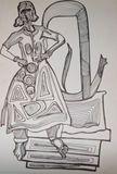 original indian modern art