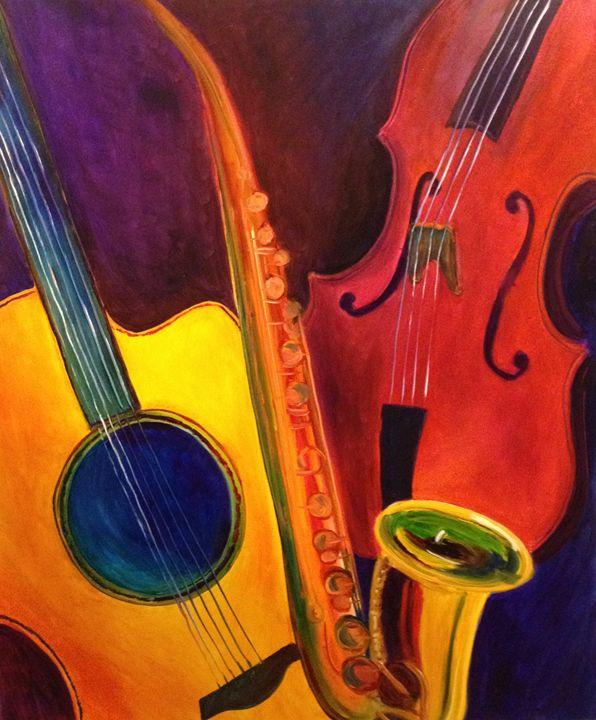 All That Jazz - B Kielkowski Paintings