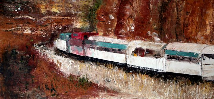 Verde Canyon Express - B Kielkowski Paintings