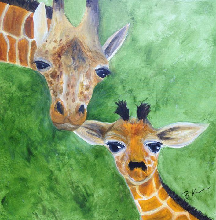 Mother's Love - B Kielkowski Paintings