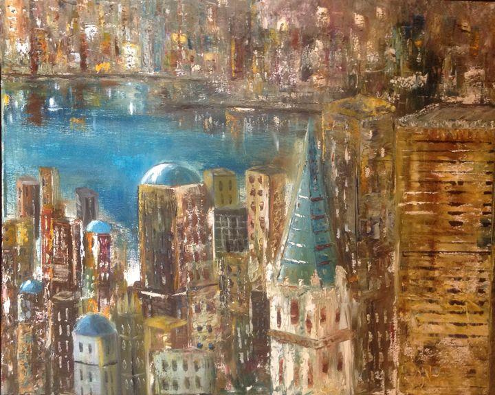 Italian Port - B Kielkowski Paintings