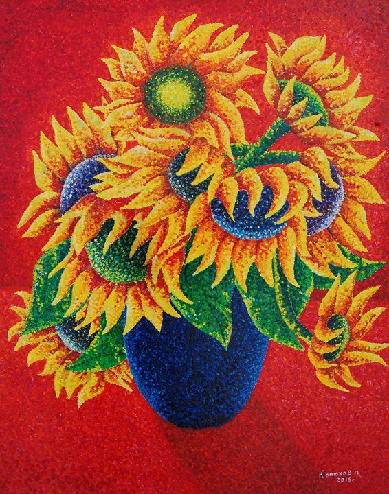 Sunflowers - Ilya Konyukhov