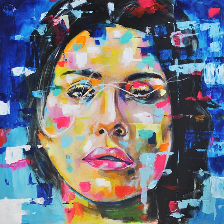 Color space girl - Ilya Konyukhov