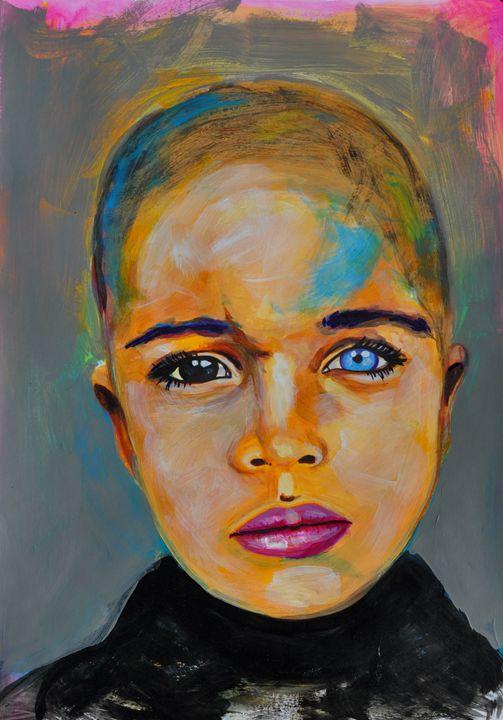 Heterochromia boy - Ilya Konyukhov