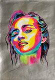 Acrylic/paper 60*43 cm