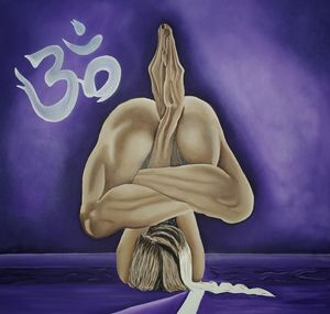 Purple aum - Cady