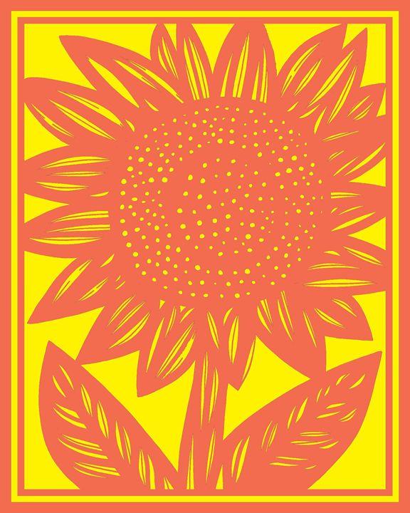 Epitaph Sunflower Yellow Green - 631 Art