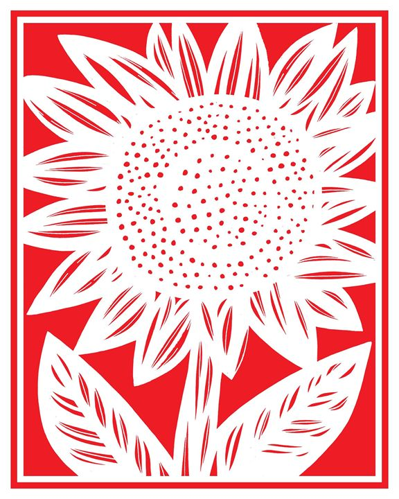 Effluvium Sunflower Red White - 631 Art