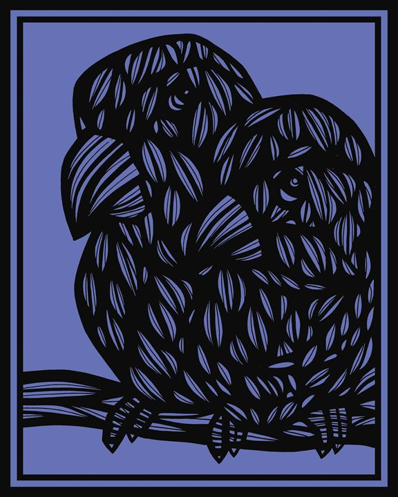 Hessling Parrot Blue Black - 631 Art