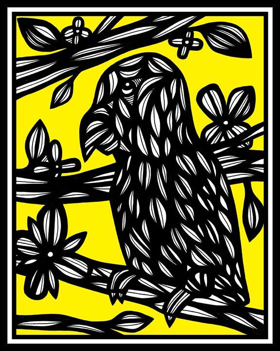 Debarba Parrot Yellow Black - 631 Art
