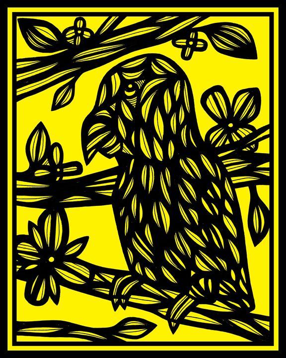 Gotimer Parrot Yellow Black - 631 Art