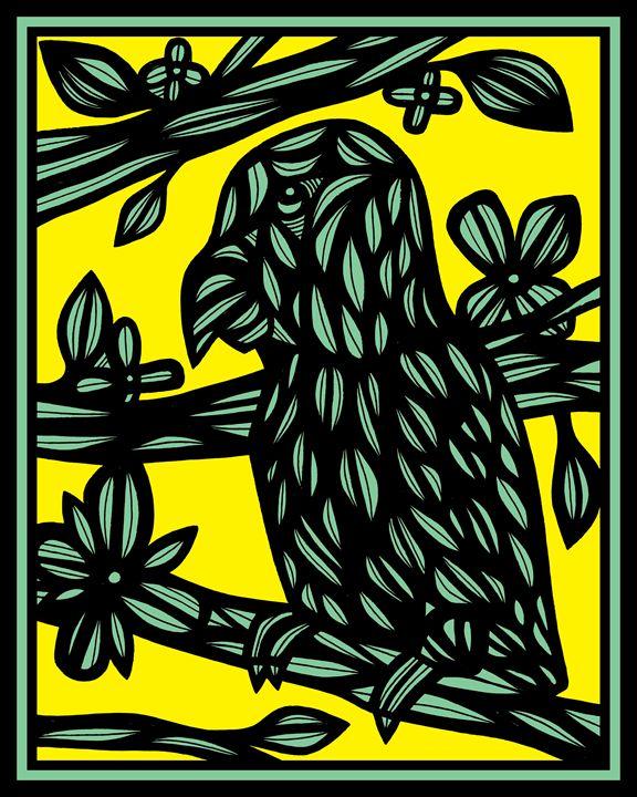 Levielle Parrot Yellow Green Black - 631 Art