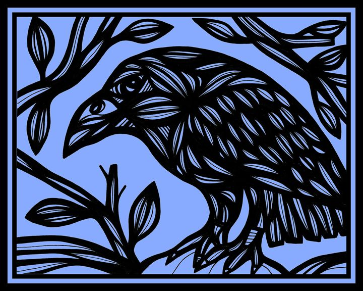 Stepaniak Magpie Blue Black - 631 Art