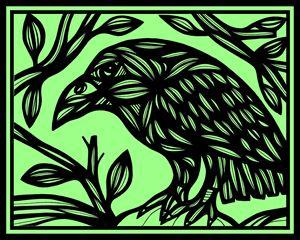 Kisiel Magpie Green Black - 631 Art