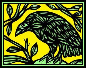 Heishman Magpie Yellow Black - 631 Art