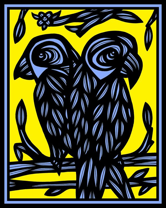 Emollient Parrot Yellow Blue - 631 Art