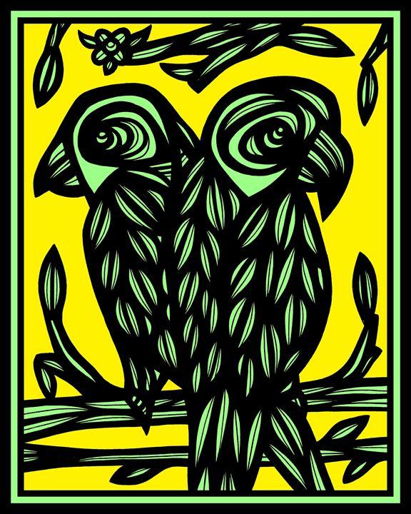 Elysium Parrot Yellow Black - 631 Art