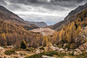 Preda Rossa, Val Masino, Italy