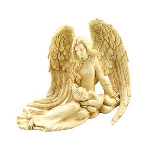 Angel and Child Figurine