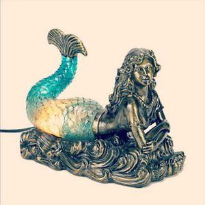 Mermaid Lamb mermaid resting