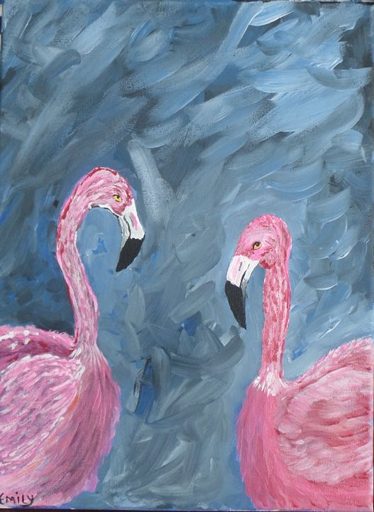 For the love of Flamingo's - EmilyCreations