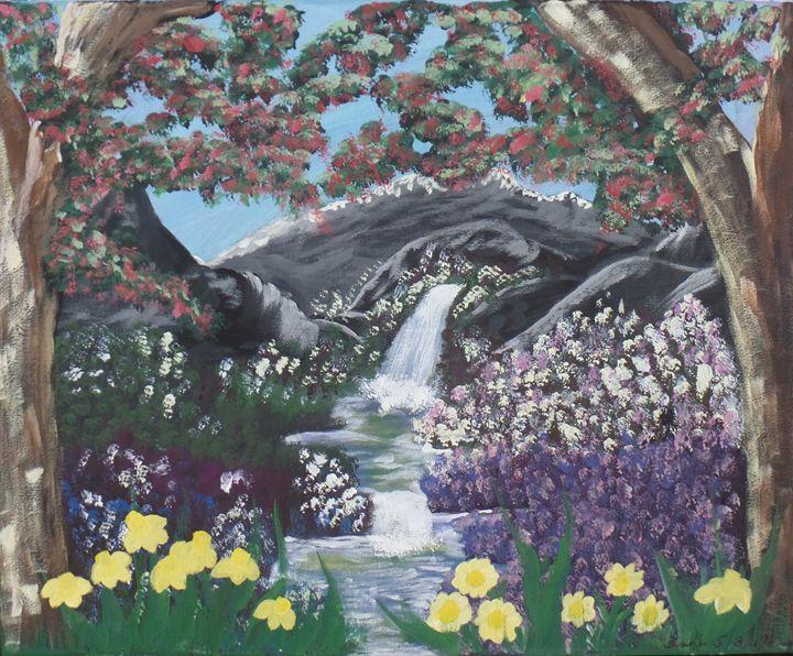 Waterfalls in paradise - EmilyCreations