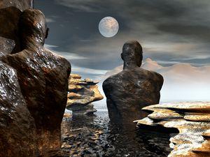 Watchers Under the Moon