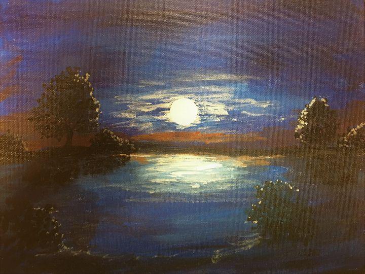 Moon At Night - John Thiem