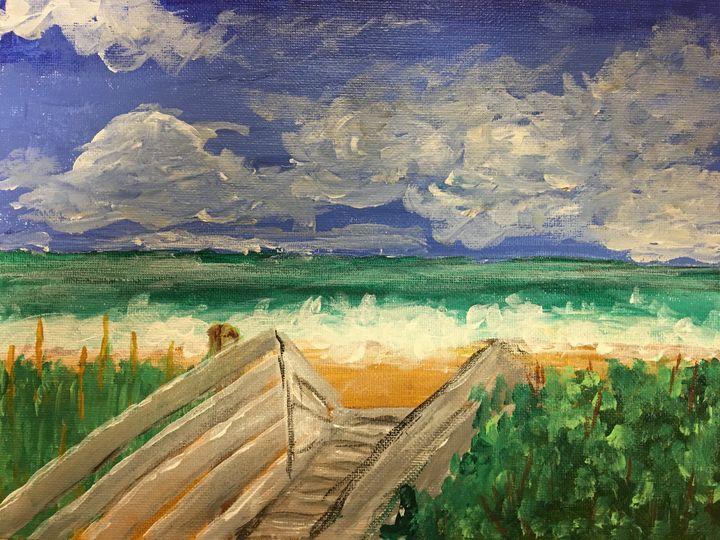 Beach Access - John Thiem