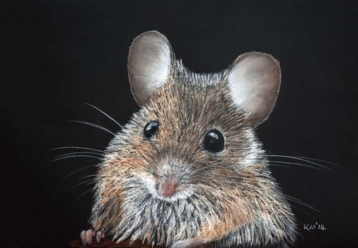 Woodmouse - Kate Wilkey Art