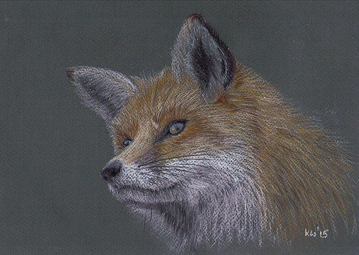 Fox - Kate Wilkey Art