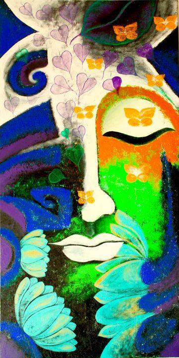 The Devine Buddha - Dipannita Mukherjee