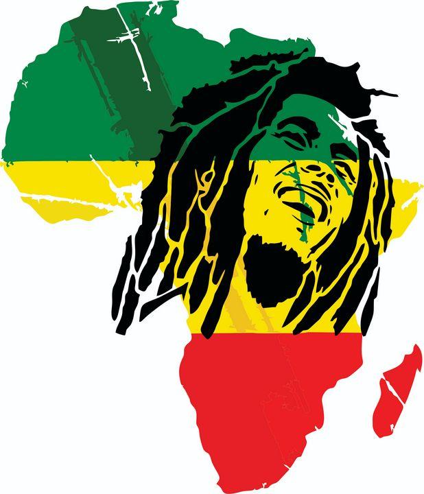 Bob Marley Africa Rasta - Explosive