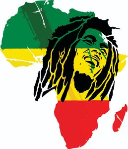 Bob Marley Africa Rasta