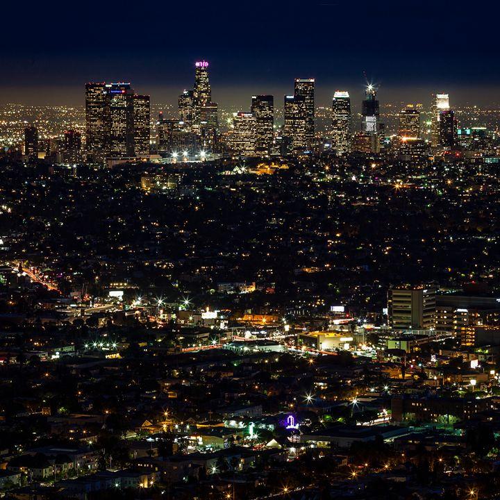 Los Angeles Skyline - Kevin Case
