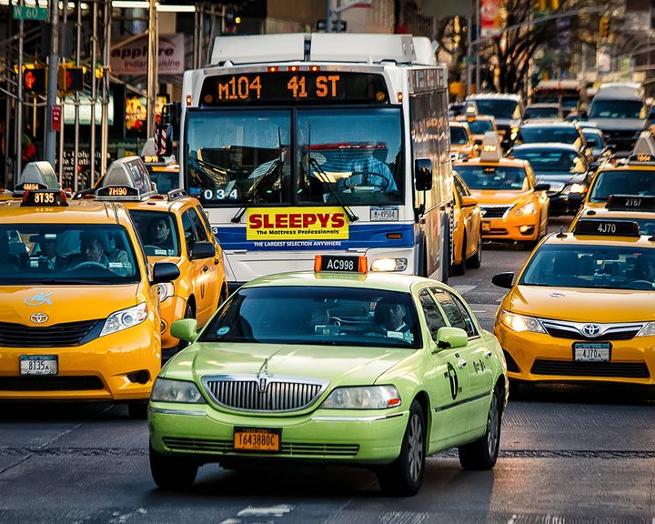 NYC Taxi Cabs - Kevin Case