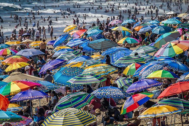Santa Monica Beach - Kevin Case