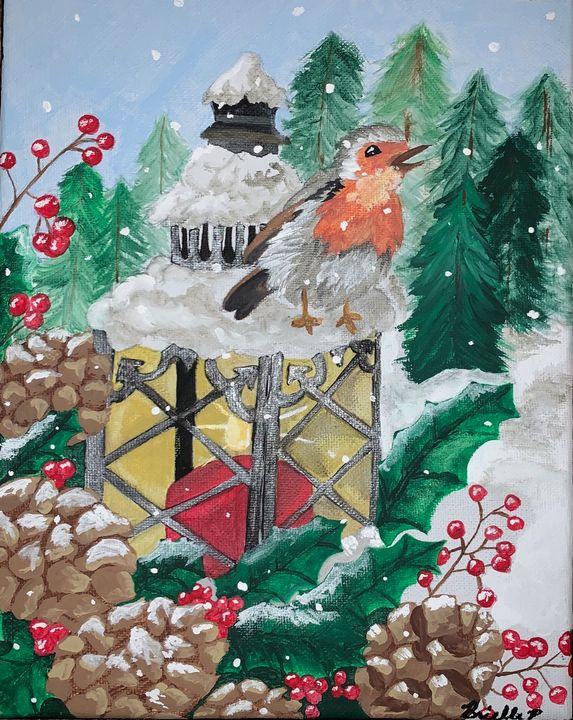 Christmas bird - Brielle Viña