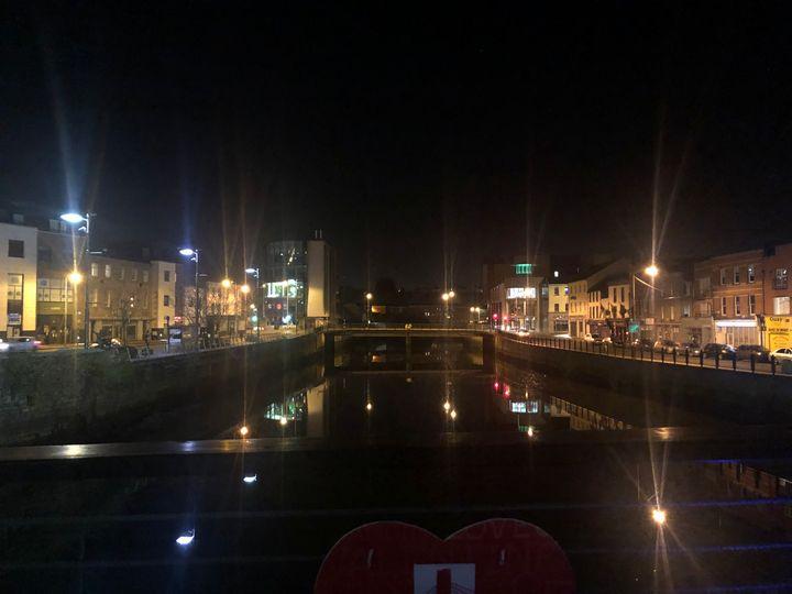 Night lights in town - Alma Harrak